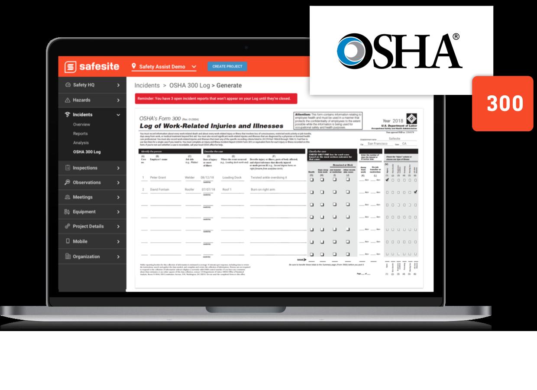 OSHA 300 Form Integration