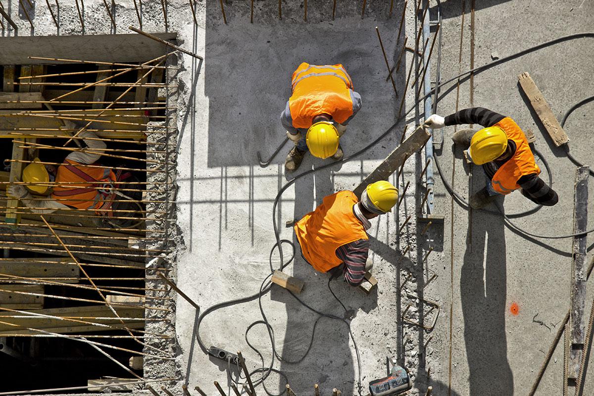 Construction Site Cement
