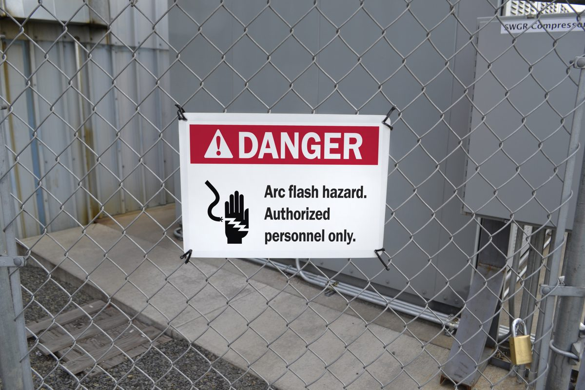 Danger Arc Flash Sign