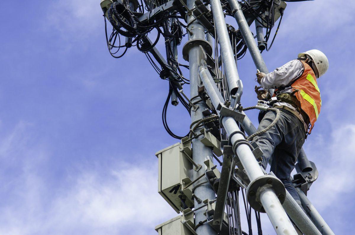 tower worker loto procedure