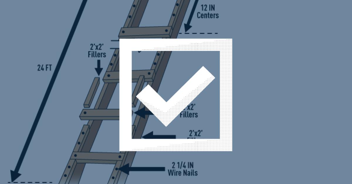 Job Made Ladder Checklist