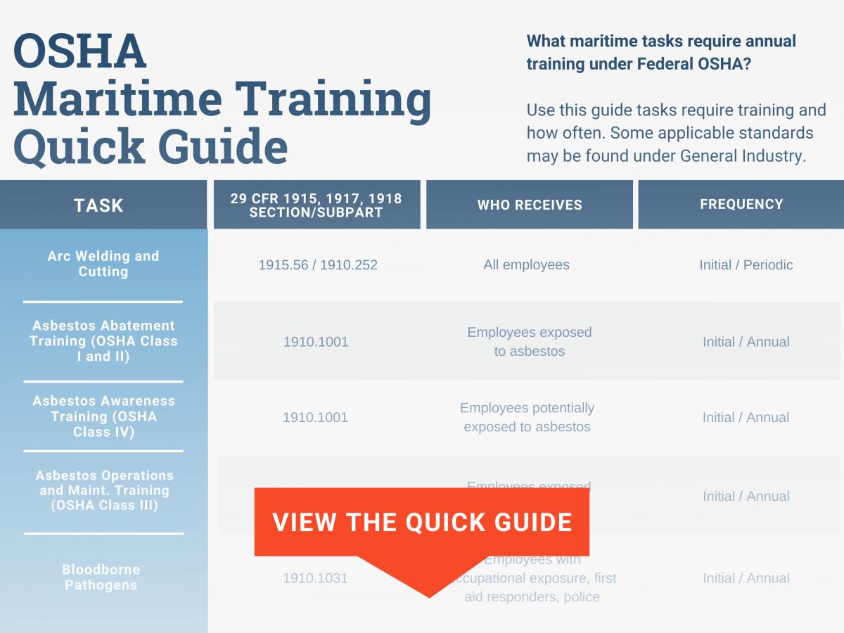 maritime training quide preview