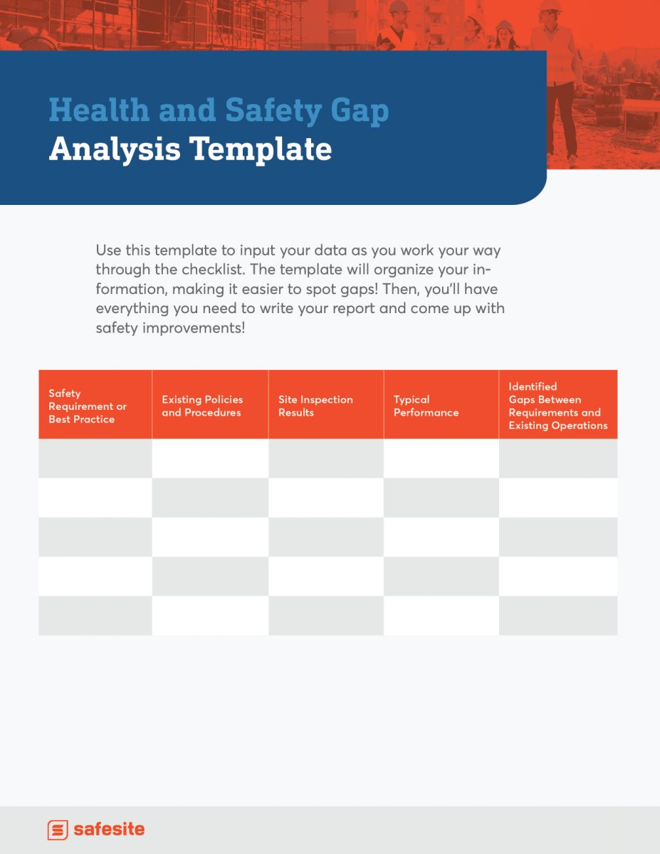 Ss Health And Safety Gap Analysis Checklist2 (1)