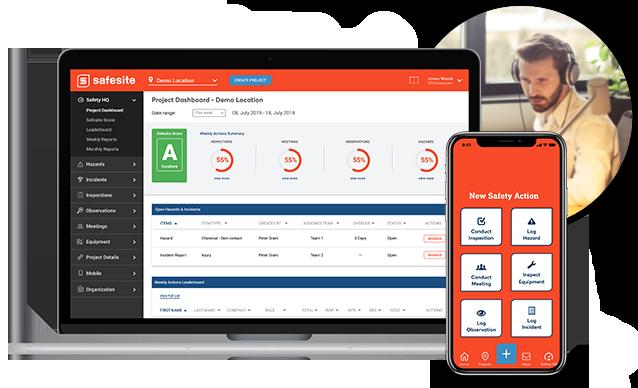 Safesite Platform Project Dashboard