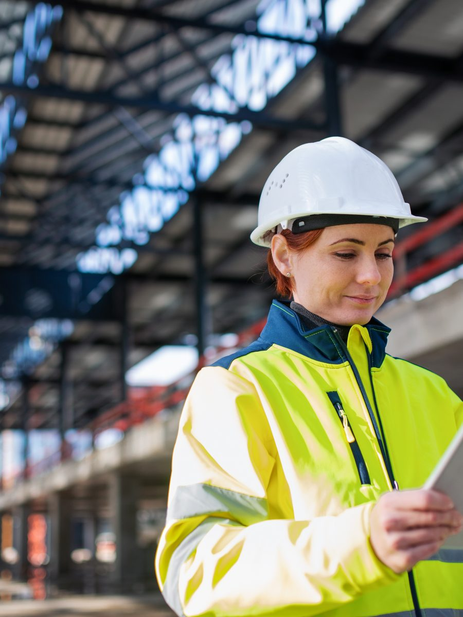 Safety professional uses tablet to save time on safety tasks